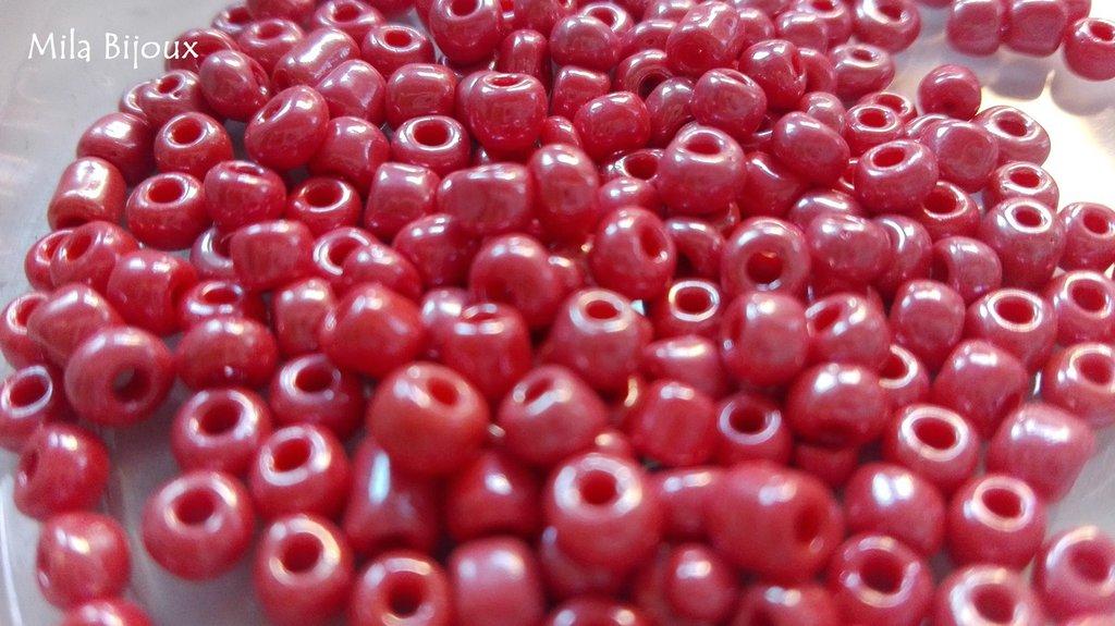perline amaranto 4 mm 200 pz