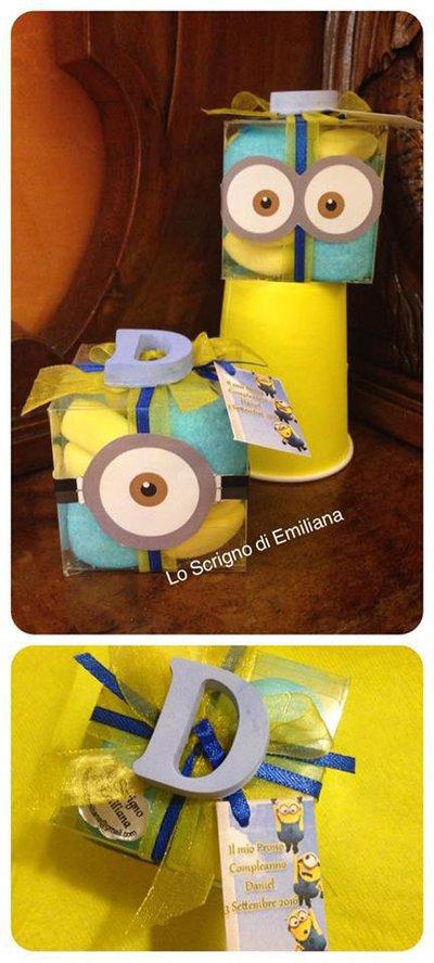 Bomboniera Compleanno Minions