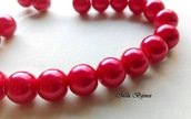 perle rosso cherry 8 mm