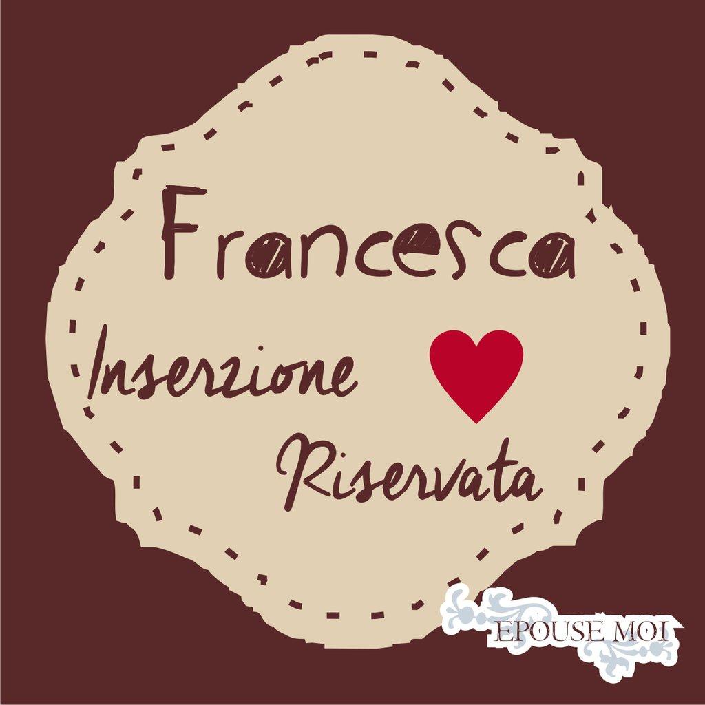 inserzione riservata francesca