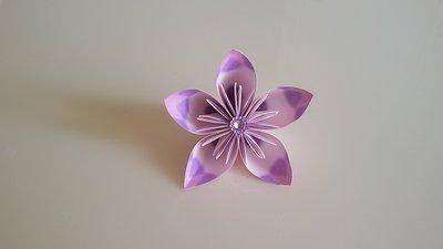 *fiore origami kusudama segnaposto *