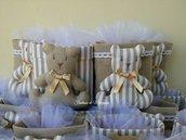 Orsetti portaoggetti - Bomboniera per nascita,battesimo,comunione,compleanno