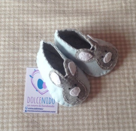 Le scarpette Coniglietto