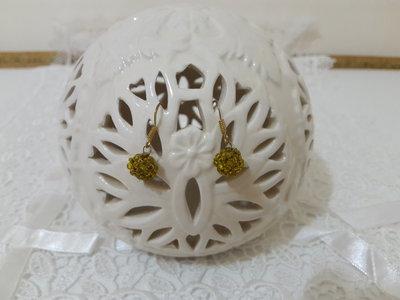 Orecchini perline sfera