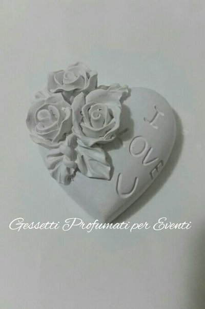 Gessetto profumato cuore I love you