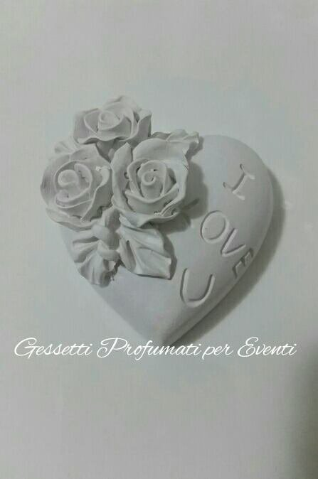 Gessetto profumato cuore I love you