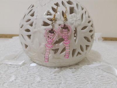 Orecchini perline ballerina