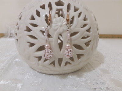 Orecchini perline pendenti