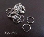 LOTTO 25 anellini acciaio inox (10x0,8mm) (cod. inox 5)