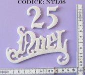 Fustellato Feltro 25 Noel NTL08
