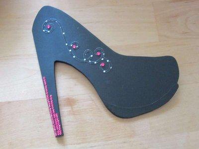 invito compleanno scarpa
