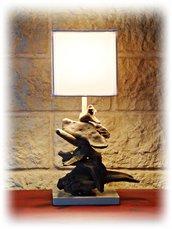 ISABELLE lampada con legni di mare