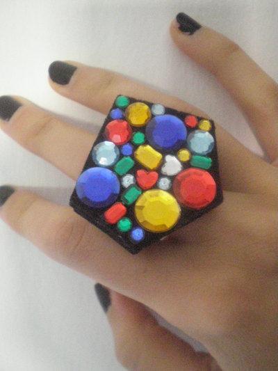 Anello gemme