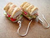 Tuna Salad Sandwich Earrings