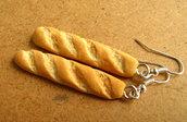 Baguette earrings