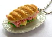 Classic Sandwich Necklace