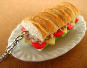 Tuna Salad Sandwich Necklace