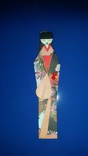 segnalibro origami geisha