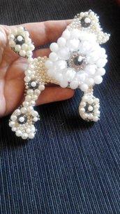 Barbone decorato con perline...