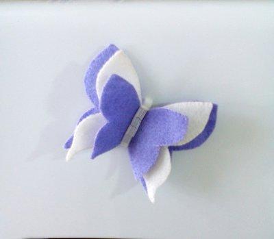 bomboniera farfalla in feltro