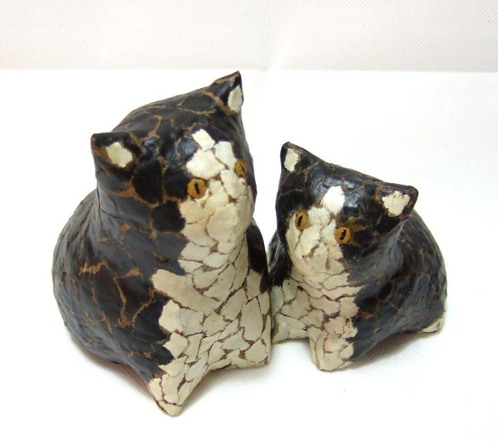 I due gattini Black & White