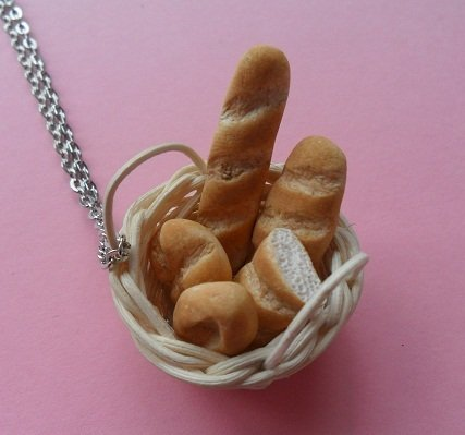 Bread Basket Necklace