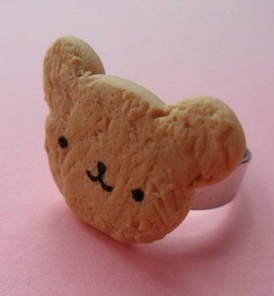 Bear Cookie Ring