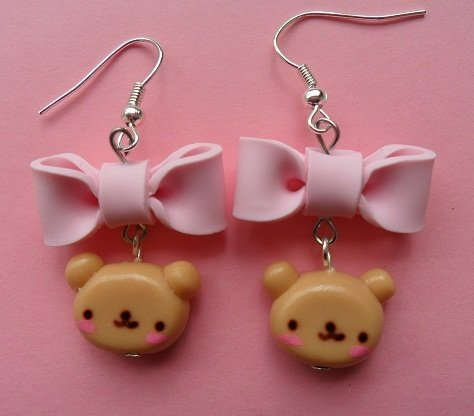 Sweet Bear Earrings