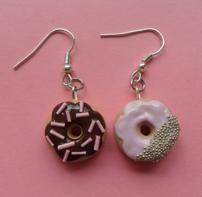 My favourite donuts - Earrings #1