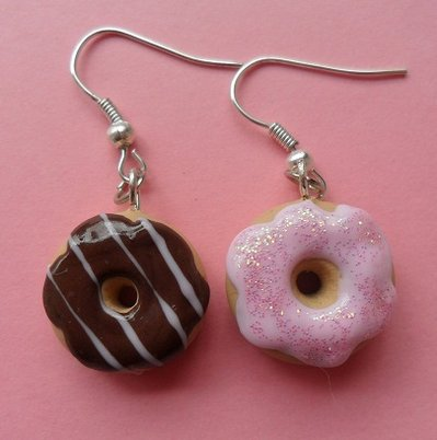 My favourite donuts - Earrings #2