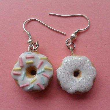 My favourite donuts - Earrings #3