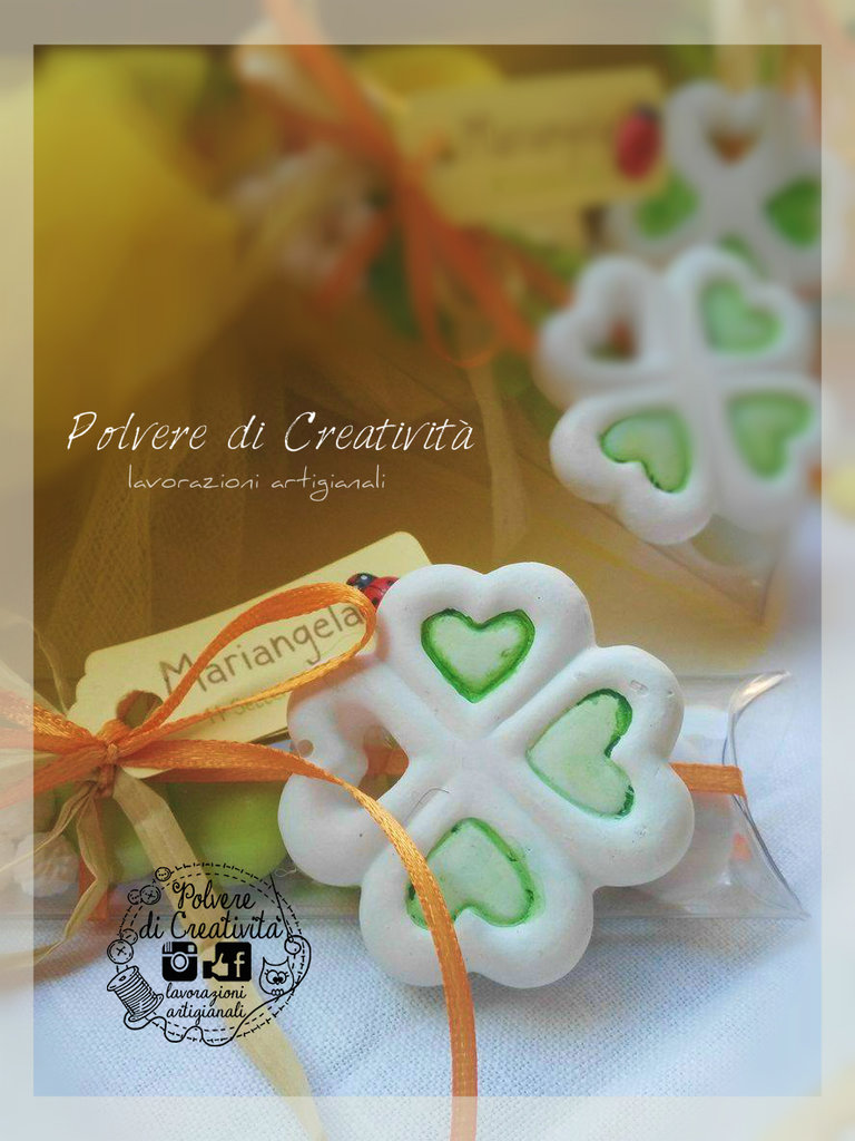 Bomboniere Quadrifoglio Handmade