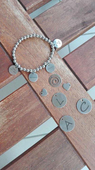 Medagliette personalizzabili in acciaio