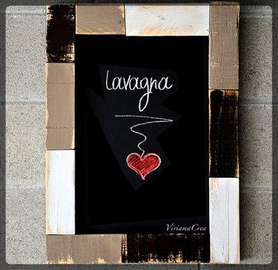 Quadro Lavagna Vintage