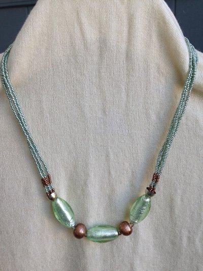 Collana di perle di Murano