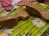 suola per stivale modello  tacco 10,5 cm  n 40