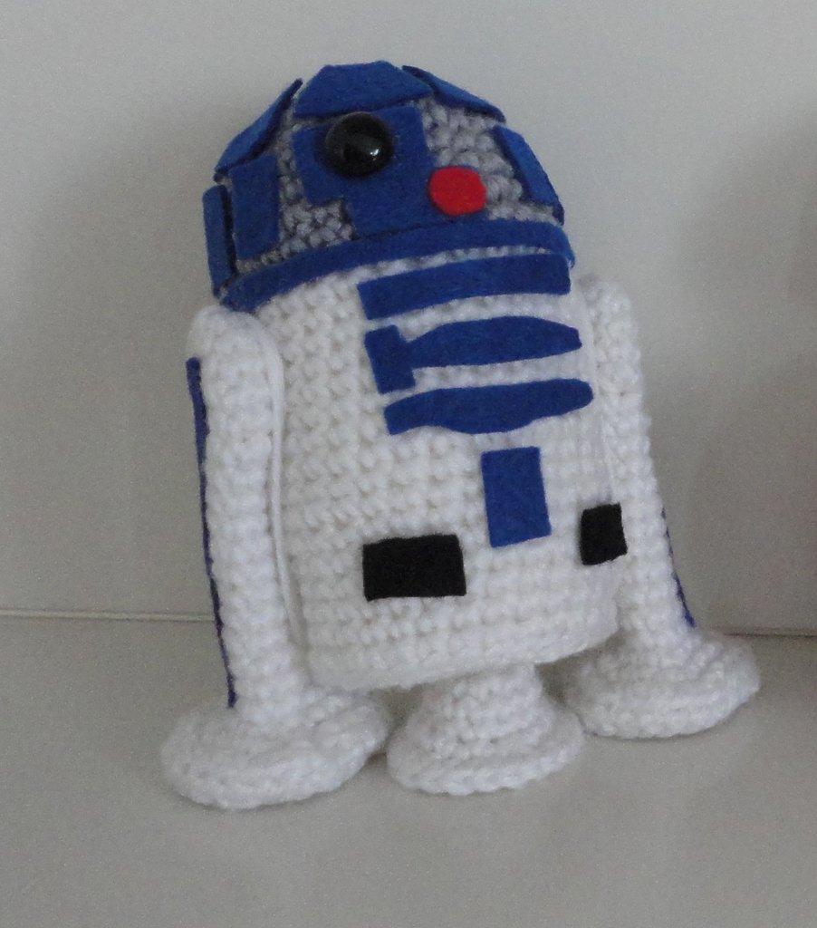 Star Wars R2D2 amigurumi