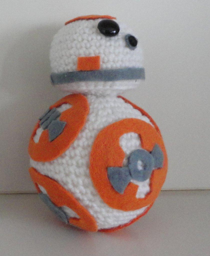 Star Wars BB8 amigurumi,handmade