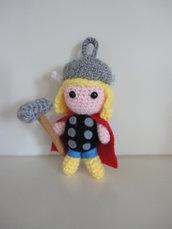 Thor-avengers portachiavi amigurumi