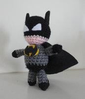 Batman/portachiavi realizzato a mano
