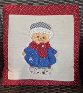 cuscino quillow ginger inverno - un cuscino con dentro un plaid