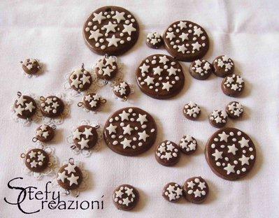 Lotto ciondoli biscotto