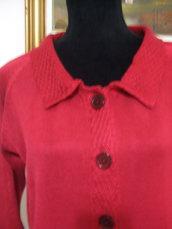cardigan donna maglia cotone
