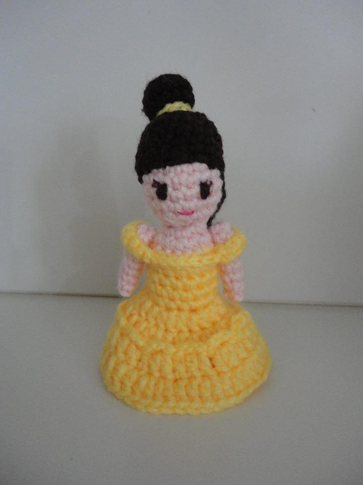 Belle-Principessa realizzata a mano