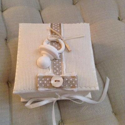 COFANETTO BABY/Bomboniera/idea regalo