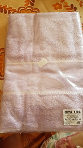 Asciugamano da ricamo