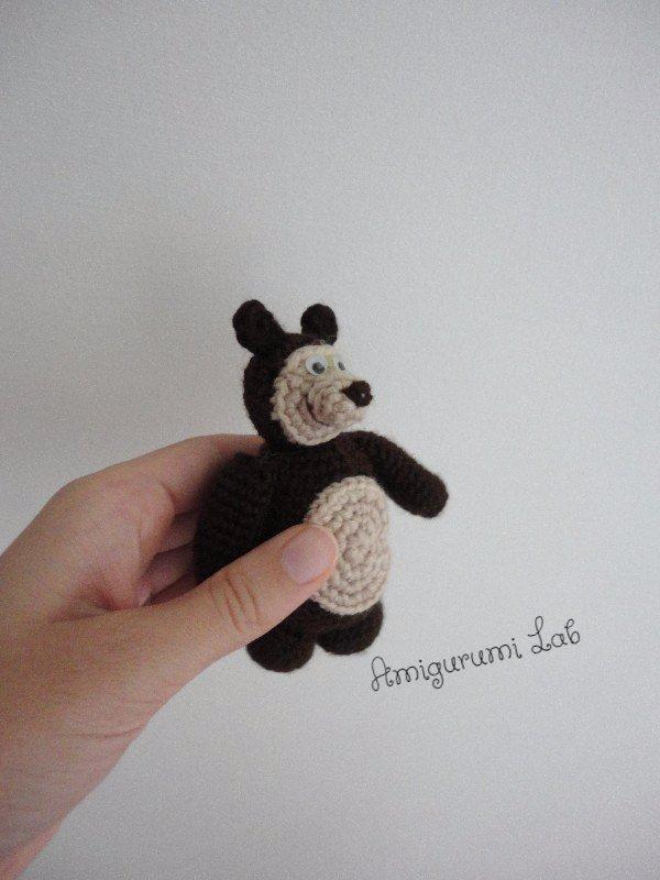 Orso di Masha&Orso realizzato a mano