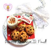 ☃ Natale In Dolcezze 2016 ☃  Collana FOR SANTA - Vassoio di latte e biscotti per Babbo Natale!