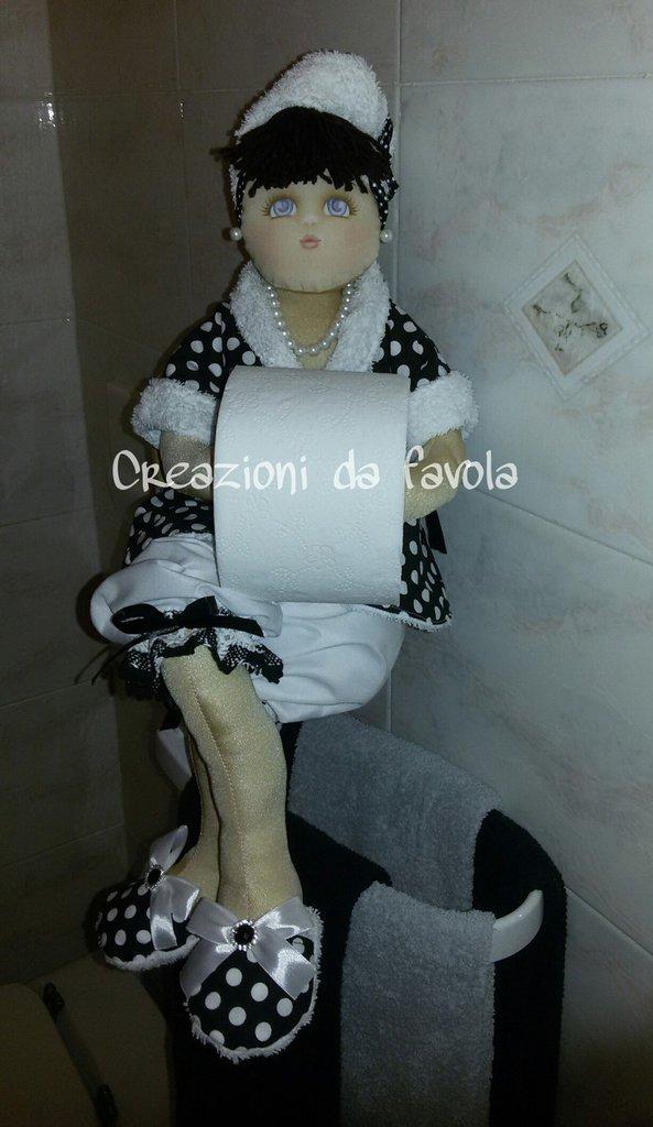 Bambola portarotolo Diana