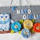 FIOCCO  ANNUNCIO NASCITA GUFETTO